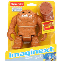 Dc Imaginext Super Friends Clayface Cara De Barro