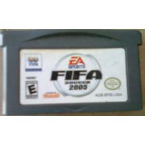 Fifa Soccer 2005 Para Game Boy Advance Compatível Com Nds!