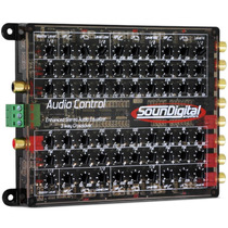 Audiocontrol 2 Crossover Equalizador Soundigital Lançamento