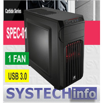 Gabinete Corsair Carbide Spec-01 Acrilico Usb 3.0 1 Fan