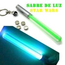 Chaveiro Sabre Luz Eletronico Anakin Yoda Jd Star War Hasbro
