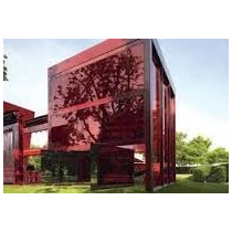 Pelicula De Controle Solar Vermelho Espelhado 0,75x30m