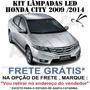 Kit Super Led Branca Honda Fit City New Civic Si Accord Crv