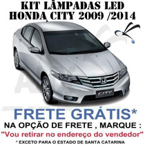 Kit Lampadas Led Honda Fit Ou City - Frete Grátis - Anx Leds