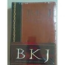 Biblia Bkj King James Atualizada Completa-edição De Estudo