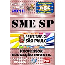 Apostila Digital Sme Sp Professor Educacao Infantil 2015