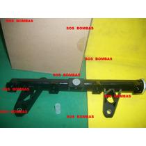 Flauta Do Bico Injetor Peugeot 207 1.4 8v Flex 9661364380