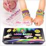 Rainbow Loom-kit Pulseira Borracha Com 600 Peças P.entrega