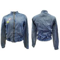 Jaqueta Jeans Cantão #moda #brechodacris