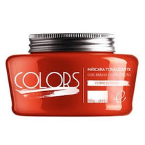 Mascara Colors Fine Matizante Cobre Intenso 250gr