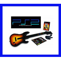 Guitarra Ps2 E Guitar Hero Playstation 2 World Tour Original