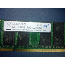 Memoria Ram Notebook Netbook 2gb Ddr2 667mhz Pc2