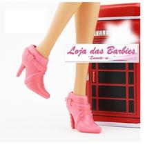 Botas Para Boneca Barbie * Original * Sapato * Sapatinho