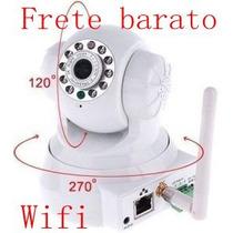 Camera Ip Ir Wireless Visão Noturno Controle Via Internet
