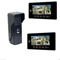2 Em 1 Interfone 7 Color Monitor Câmara Video Door