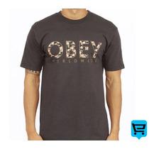 Camiseta Obey Floral - Pronta Entrega! - Dgk Diamond Grizzly