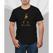 Camiseta Johnnie Walker Heineken Whisky Vodka Duff Absolut.