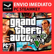 Grand The Auto V, Gta 5 - Steam Key Pc Original
