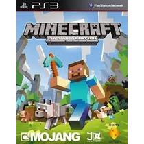 Minecraft Ps3 Português Codigo Psn! Envio Imediato