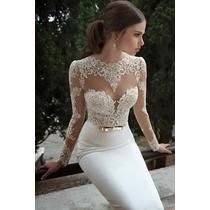 Vestido De Noiva Sereia R$ 1370,00