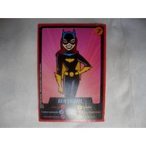 Card Dc Comics - Mc Lanche Feliz - Batgirl