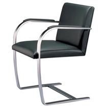 Cadeira Brno Barra Chata Cromado Courissimo 1a. Linha