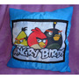 Almofada Angry Birds Peppa George Monster High Varios Temas