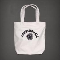 Bolsa Abercrombie & Fitch Branca 100% Original E Importada