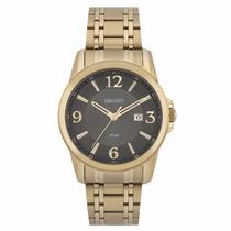 Relógio Orient Masculino Dourado Mgss1067 G2kx