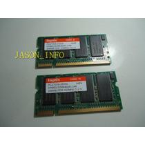2 Memórias Originais Notebook Hp Pavilion Zv5000 Total 512mb
