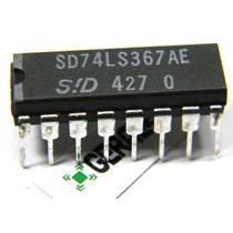 5x Ci Ttl 74367 Circuito Integrado - Seis Buffers