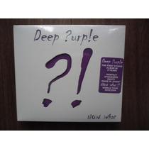 Cd + Dvd Deep Purple - Now What Novo Importado Lacrado