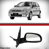 Retrovisor Corsa 2002 A 2012 Hatch Sedan Novo