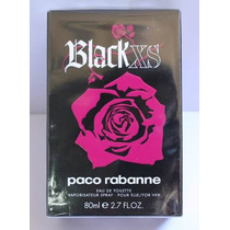 Perfume Black Xs 80 Ml Original. Promoção