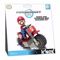 Boneco Mario Kart Wii Mario And Standard Bike Building Set
