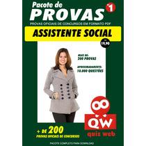 10.000 Questões Concurso Assistente Social-provas Oficiais
