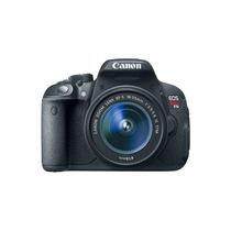 Camera Canon Eos T5i+18-55mm+32gb+bolsa+tripe+garantia Canon