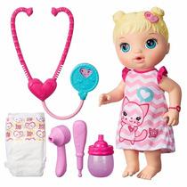 Boneca Baby Alive Loira Medica Cuida De Mim - Hasbro
