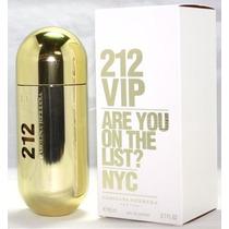 Perfume 212 Vip Feminino 80ml - Original