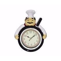 Relógio De Parede Cozinha Frigideira