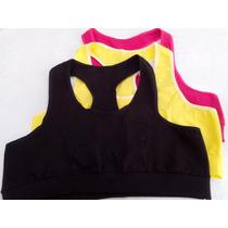 Kit Top Fitness Cotton - 10 Peças(atacado) Ref.610