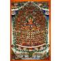 Buda Budismo Discípulos Religião Crença Tibete Tela Repro