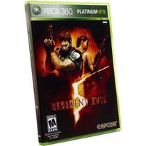 Jogo Semi Novo Resident Evil 5 Platinum Hits Para Xbox 360