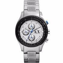 Relógio Armani Exchange Ax1602/1kn Pulseira Aço Prateada Nfe