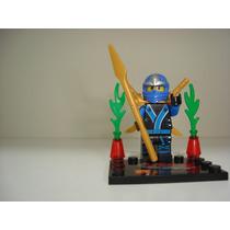 Ninja Go Jay Com Kimono Warrior Bike = Lego Ninjago