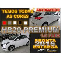 Hb20 Premium 1.6 Flex Automatico 16/16 Pronta Entrega