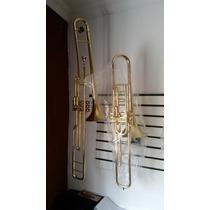 Trombone De Pisto Curto Sib F671!! Novo.