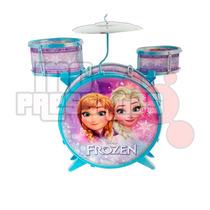 Instrumento Bateria Infantil Frozen Musical Toyng Original