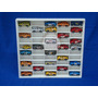 Caixa Estante Branca P/50 Miniaturas Carrinhos Hot Wheels