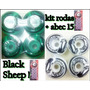 Kit Rodinhas Skate + Abec 15 Black Sheep 100% Original.
